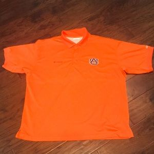 Columbia Auburn PFG Polo Shirt